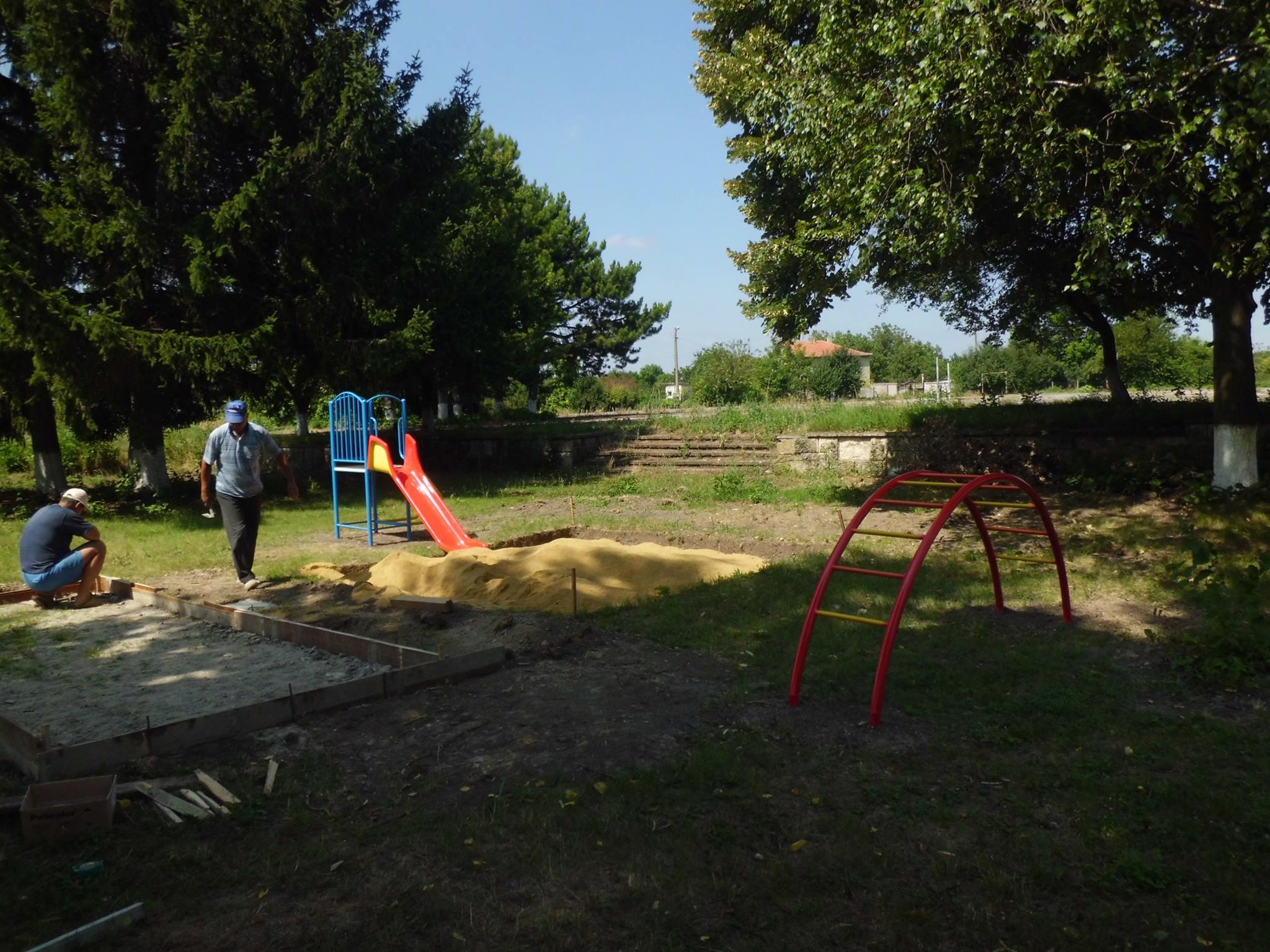 Създаване на детска площадка picture
